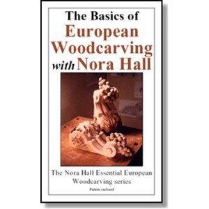 DVD - Nora Hall The Basics of European Woodcarving