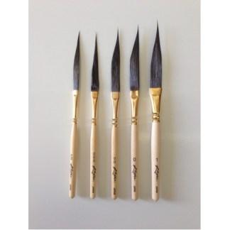 Kafka Signature Series Longliner Dager Set of 3 Brushes