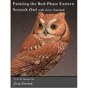 Painting the Red-Phased Eastern Screech Owl