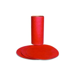"3Mâ""¢ Red Abrasive PSA Disc, 5 inch 150 grit"