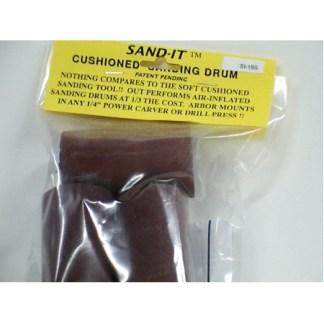 "Sand-IT Replacement Drums 3-PK 1 1/2"" x 3"" Asst Grit,#SI-1-SS"