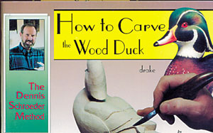 How to Carve THE WOOD DUCK DRAKE
