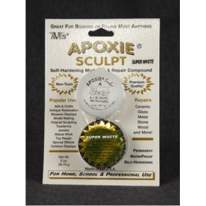 Aves Apoxie (Epoxy)  Clay 3 lb. White Extra shipping charges may apply