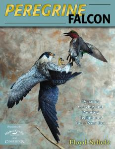 Peregrine Falcon: Dynamic Carving and Painting Techniques