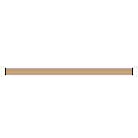 Ceramic Texturing Sticks 300 grit, Light Brown