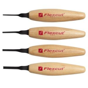 Flexcut MT300 Sweeps Micro Tool Set