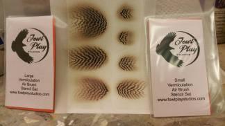 Vermiculation Stencils Large Set