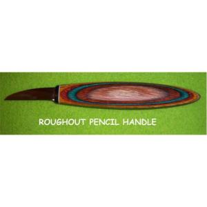 """Helvie Knife, Roughout Pencil 1/2"""" x 1 3/4"""""""