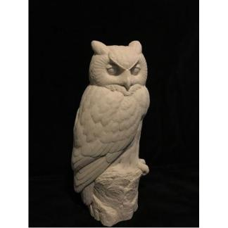 Owl, Great horned owl(1/3 scale) - Josh Guge study cast