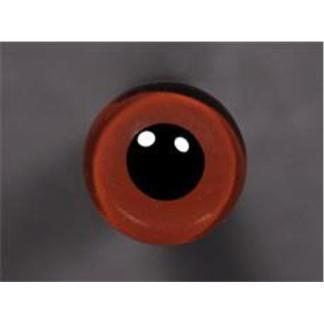Tohickon Glass Eyes Off-Wire #112 - 10mm Med.Brown M/P