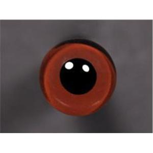 Tohickon Glass Eyes Off-Wire #112 - 09mm Med.Brown M/P