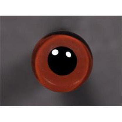 Tohickon Glass Eyes Off-Wire #112 - 12mm Med.Brown M/P
