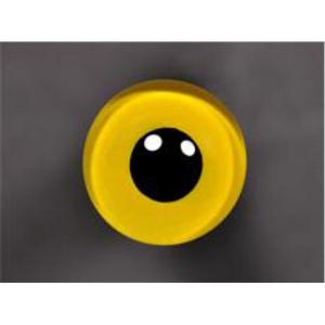Tohickon Glass Eyes Off-Wire #112 - 11mm YELLOW M/P