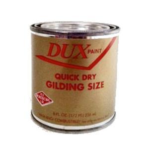 GOLD SIZE DUX QUICK DRY GILDING SIZE  1/4pt / 04oz