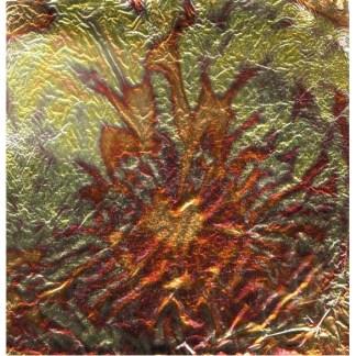 Variegated Leaf -Red
