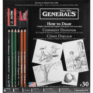 General's #30 Learn to Draw Now! Kit