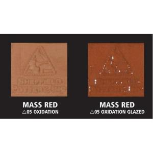 """""""Mass Red"""" Terra Cotta Moist Clay 50Lb Box (Replacement for 1071"""
