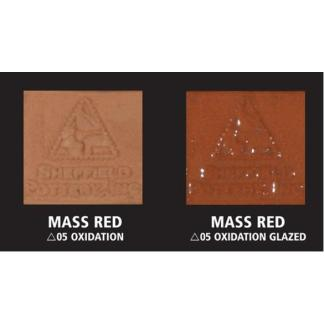 """Mass Red"" Terra Cotta No Grog Moist Clay 50Lb Box"