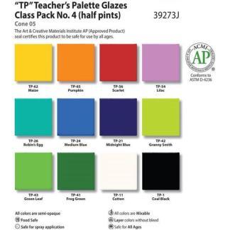 Teacher's Palette Class Pack #4, Pint liquid, AP - 12 colors