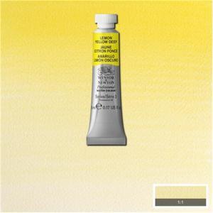 WN Professional Water Colour Lemon Yellow (Nickel Titanate)