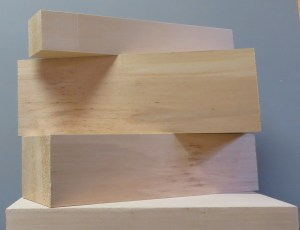 """Basswood Carving Blocks 1/4"""" thick"""