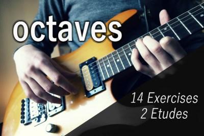 Intervals on Guitar – 1. Octaves