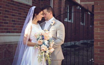 Sarah and Joe {Downtown Kalamazoo Michigan Wedding Radisson}