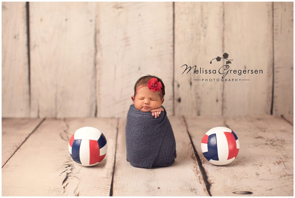 Kalamazoo Michigan newborn baby photographer