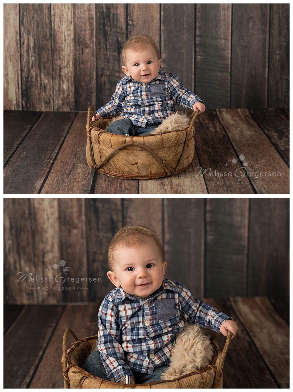 Kalamazoo Michigan baby photographer Gregersen Photography, LLC