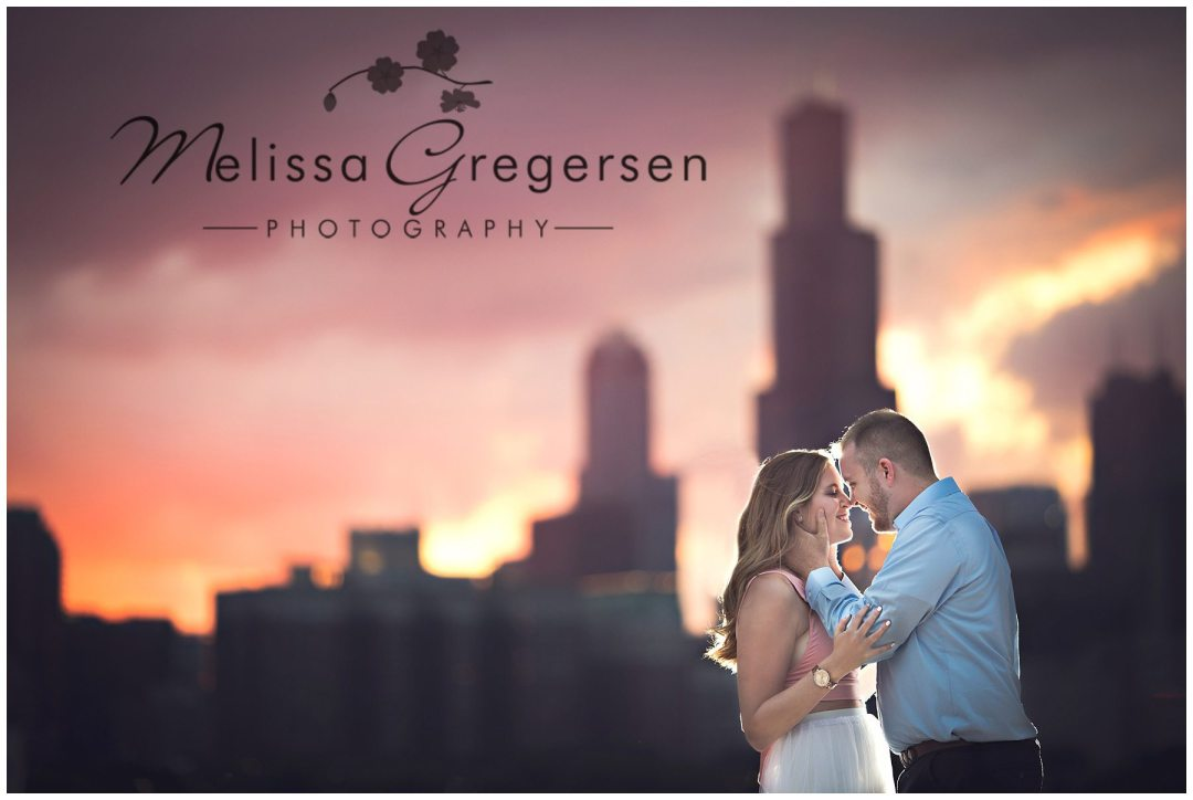 Chicago Illinois Engagement Photographer - Gregersen Phototgraphy