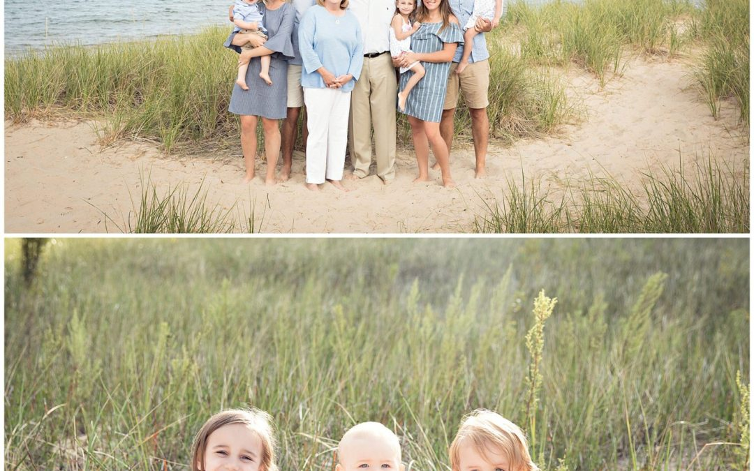 Lake Michigan Family Photography Sessions {Saint Joseph, South Haven, Saugatuck and Holland Michigan}