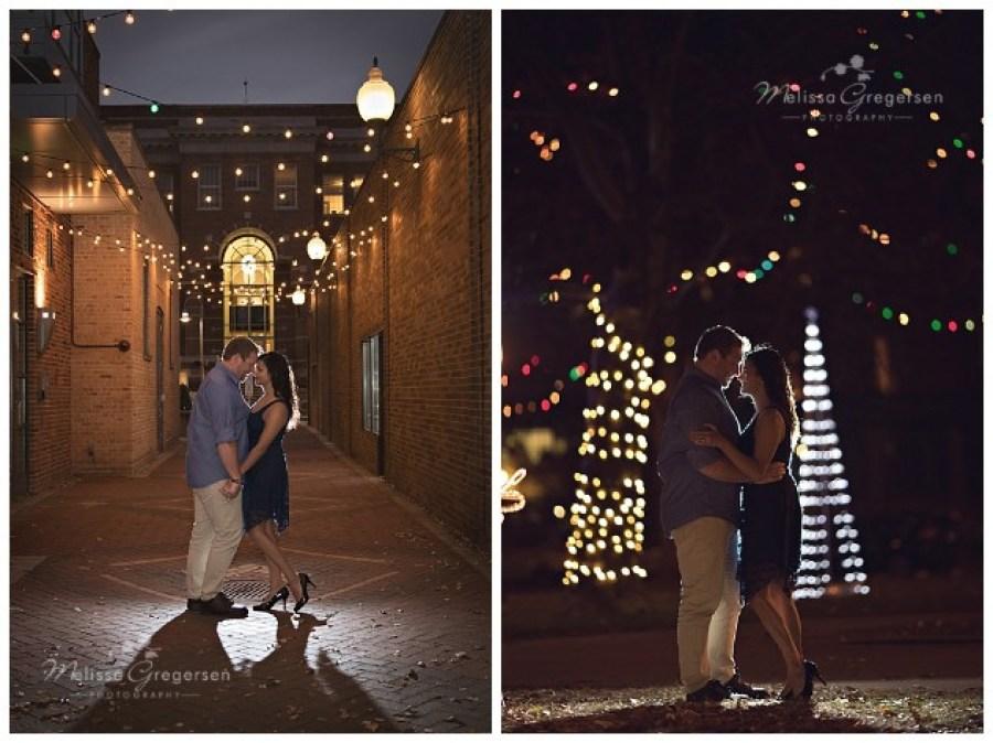 Christmas Lights  in downtown Kalamazoo