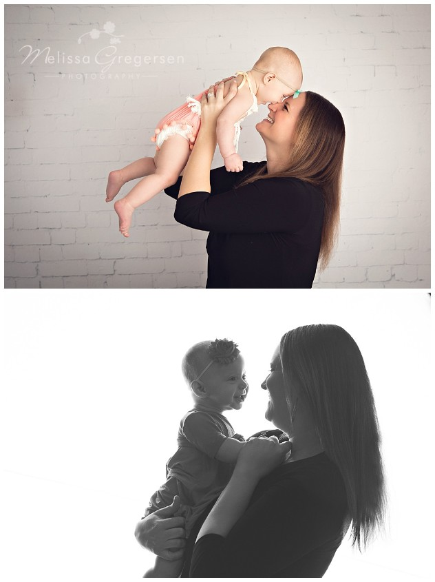 Mommy and baby photography