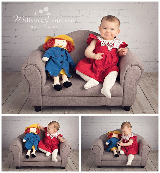 One adorable Gregersen Photography baby plan baby!