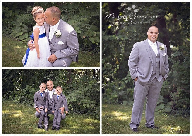 This daddy had some special moments with his little girl and new sons!