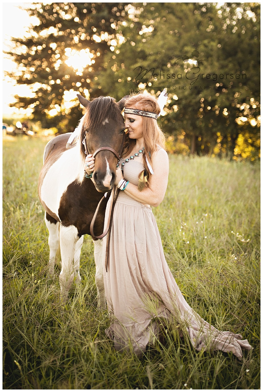 The love of a horse is undeniable in this gorgeous image.