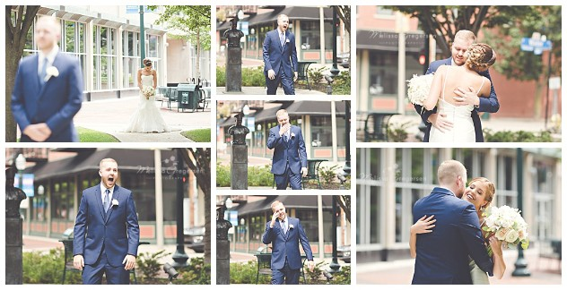 Emotional first look right in downtown kalamazoo