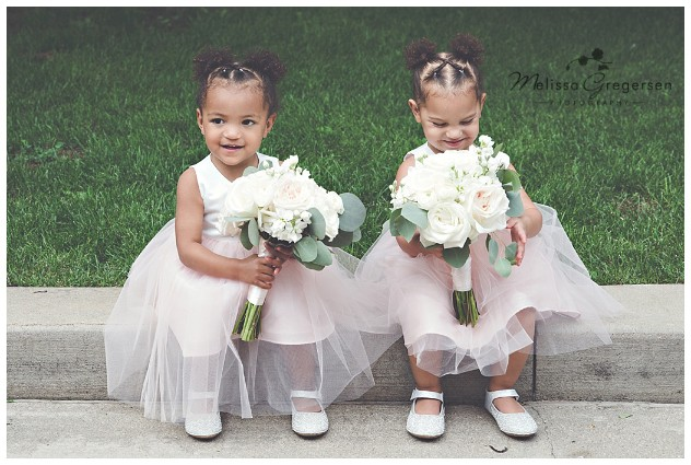 The cutest flower girls on the planet!