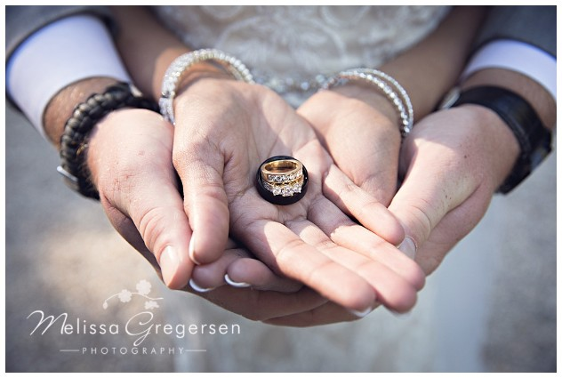 Nothing like the perfect wedding ring shot.