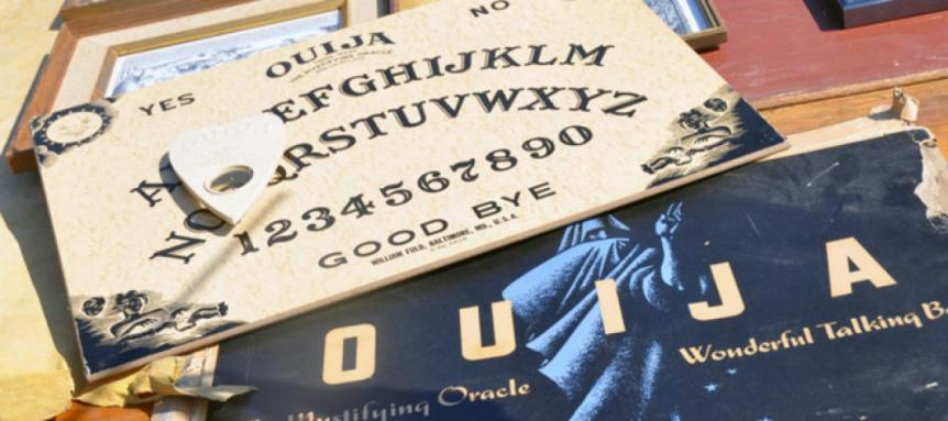 Image of an Ouija Board