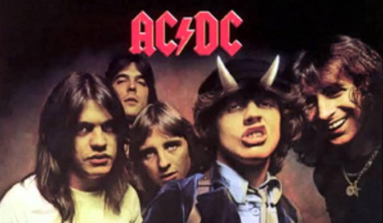 AC DC Album cover