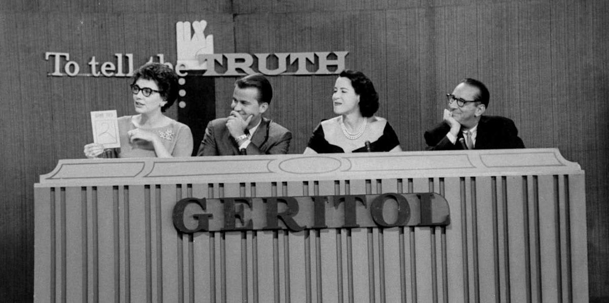 Image of game show product placement