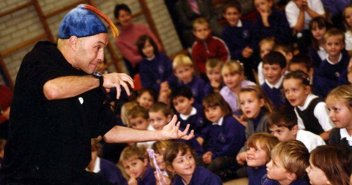 Image of storyteller