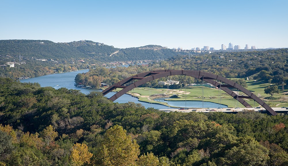 Austin Over the Loop 360 Bridge