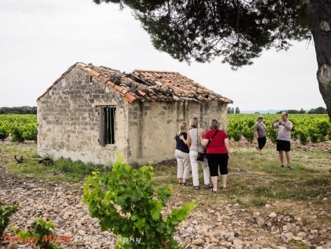 Tour of the Châteauneuf-du-Pape wine region.