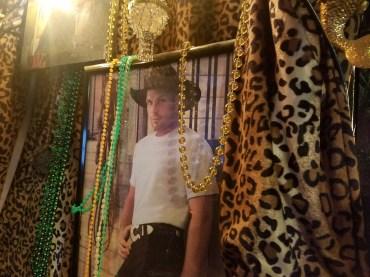 Garth Brooks in the DJ booth.