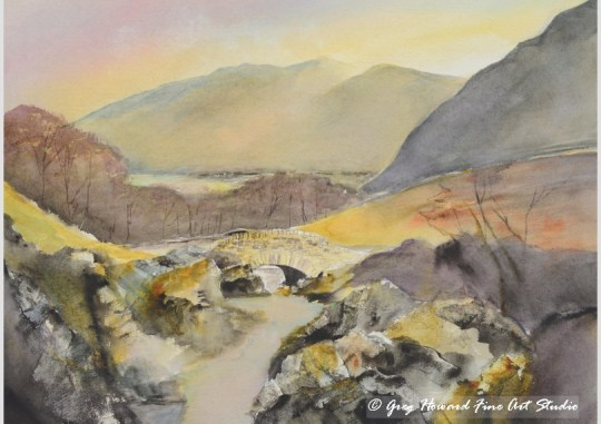 Ashness Bridge, Borrowdale, Cumbria