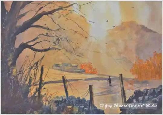 Autumn Morning In Langdale I