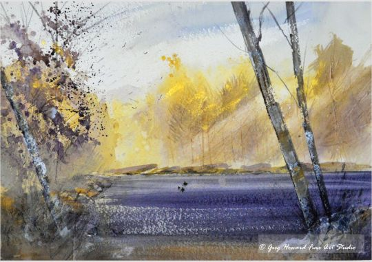 Autumn By The Lake II