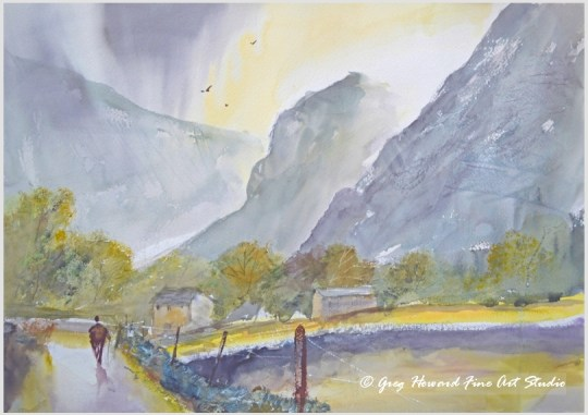 Early Morning In Borrowdale I